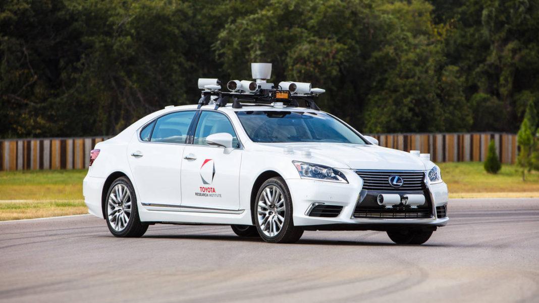 condução autónoma Toyota
