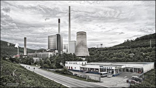 fábrica carvão