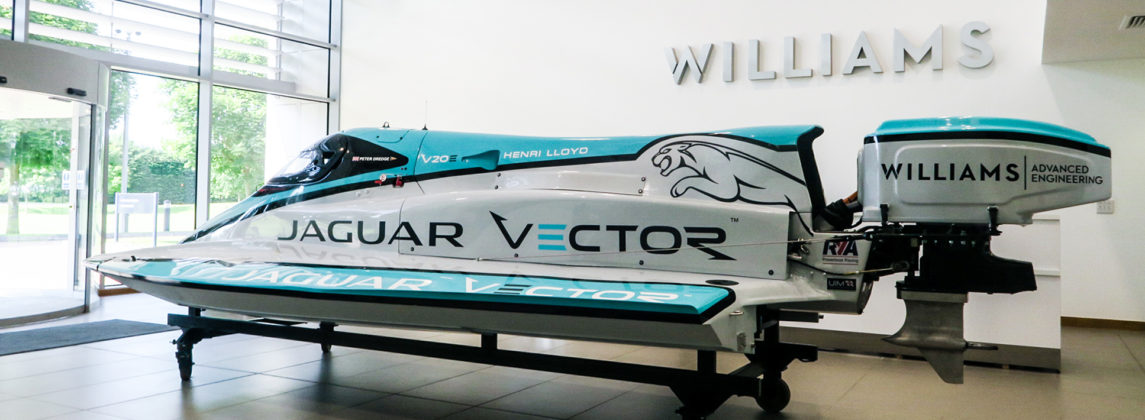 Jaguar, lancha elétrica