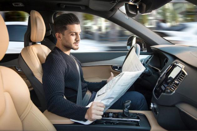 veículo autónomo