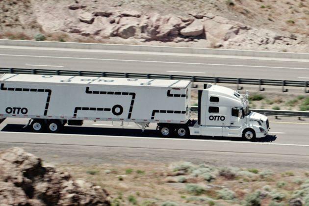 camiões autónomos Uber