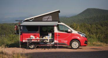 Nissan e-NV200 Camper