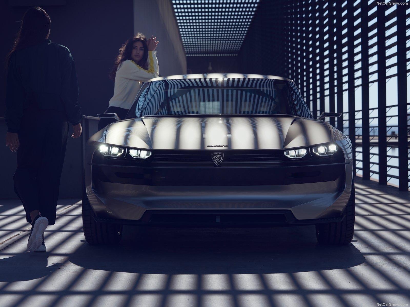Peugeot E Legend Eletrico Sera Estrela Do Salao De Paris