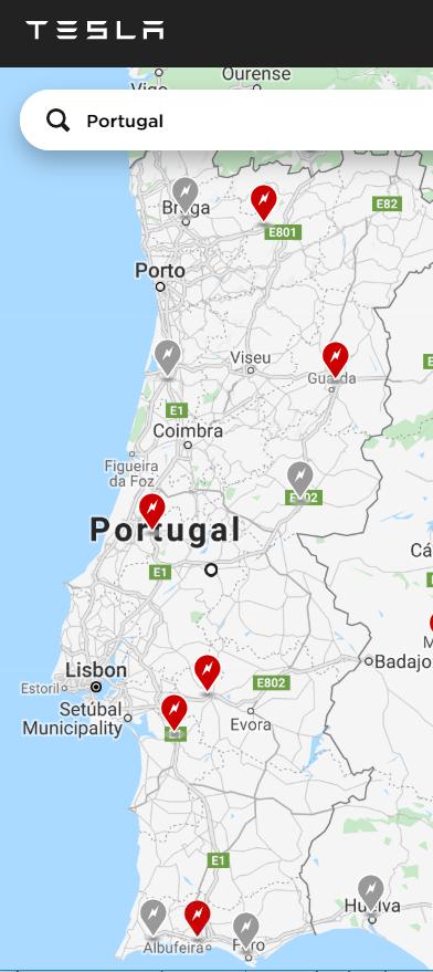 Tesla Inaugura Um Novo Supercharger No Sul De Portugal