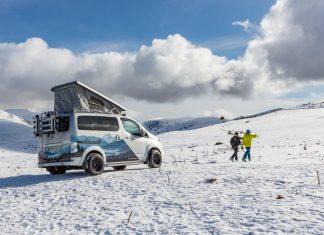 e-NV200 Winter Camper